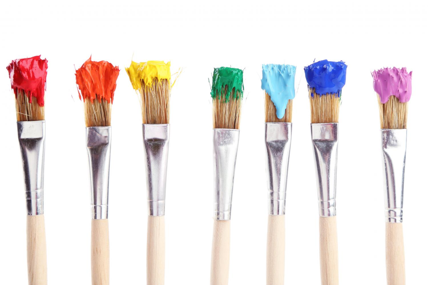 Paint Brush For Stucco